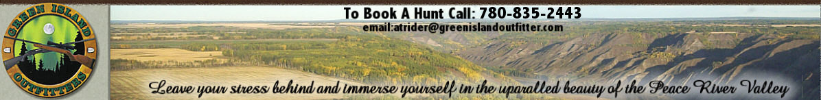Hunting in Alberta Canada with Green Island Outfitters